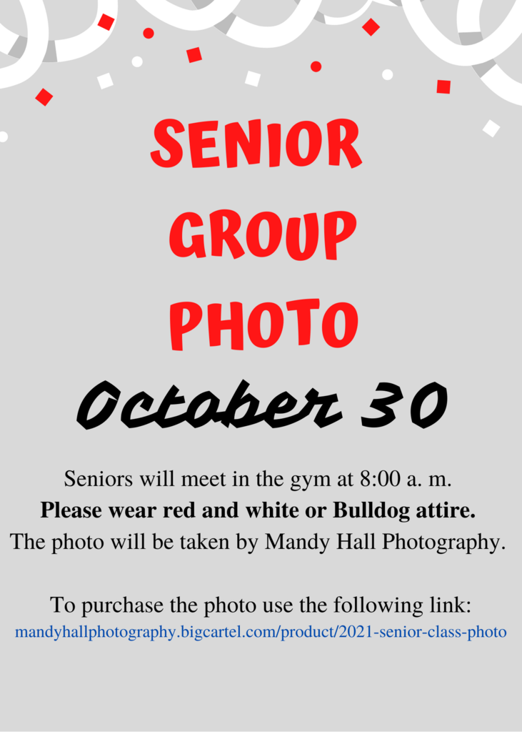Information for Senior Group Photo
