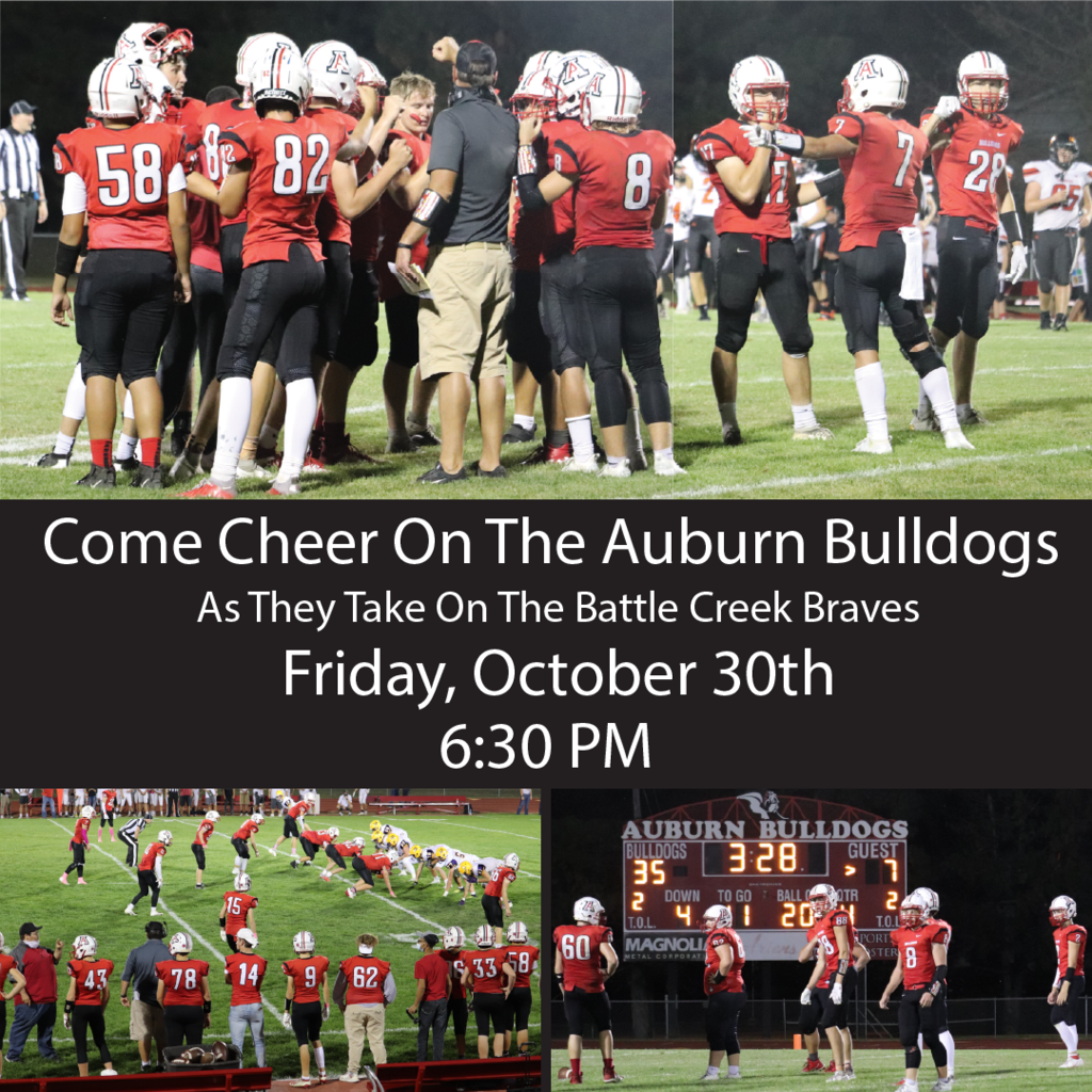 Watch Auburn take on Battle Creek Friday at 6:30pm