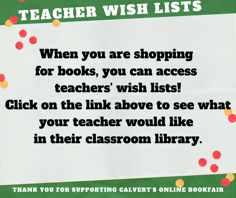 Information for Teacher Wishlists
