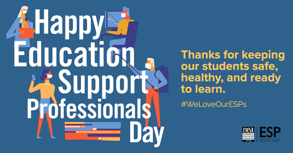 American Education Week Support Professionals Day