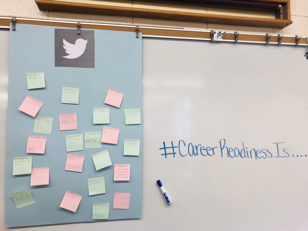 Careers/Personal Finance classes tweeted out...