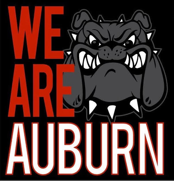WE ARE AUBURN tshirt Logo.