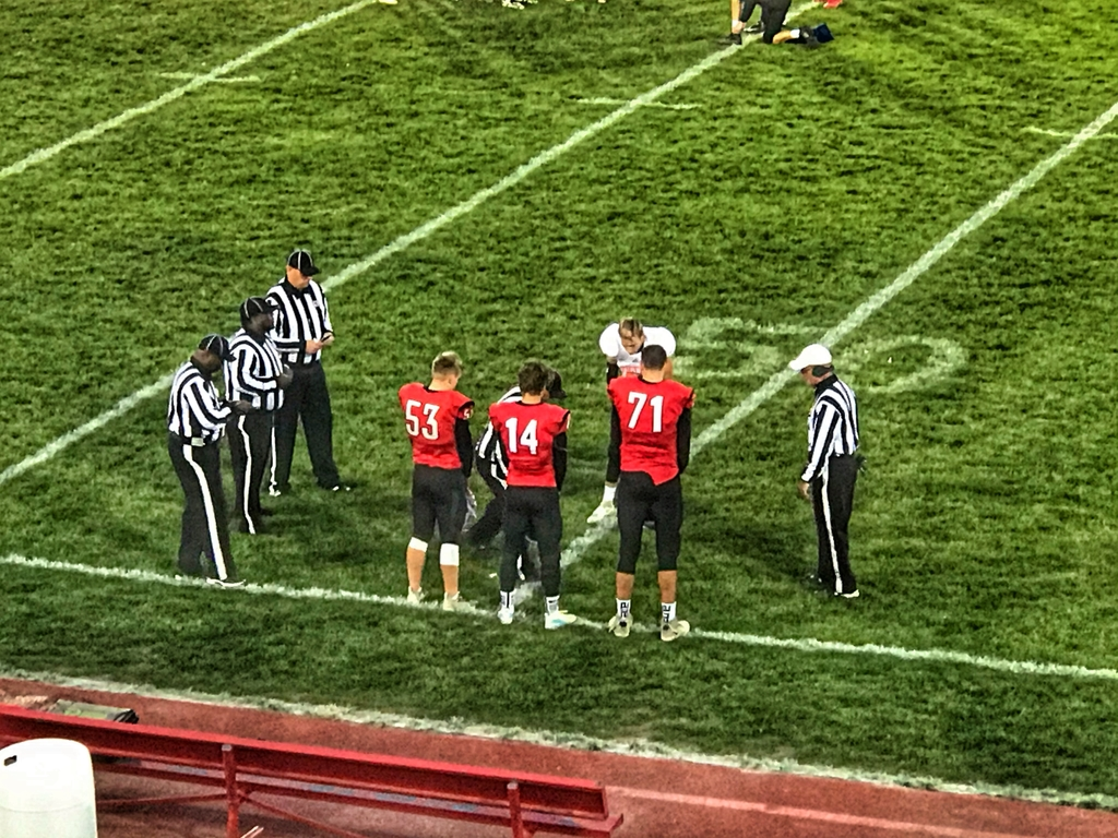 The coin toss!
