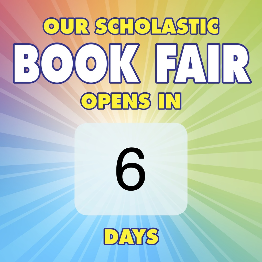 Countdown to Book Fair-6 days