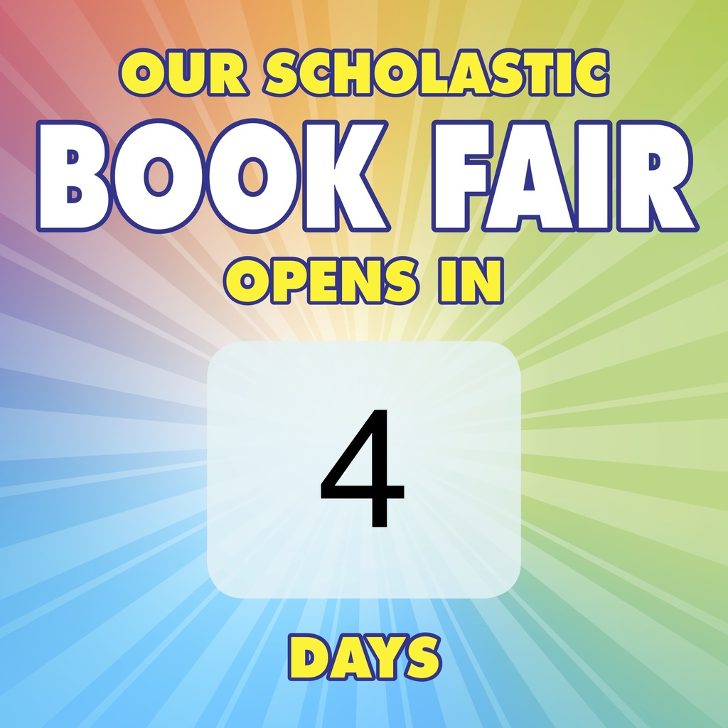 Book fair countdown- four days