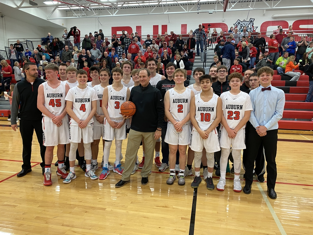 Congrats Coach Weeks on your 500th win!