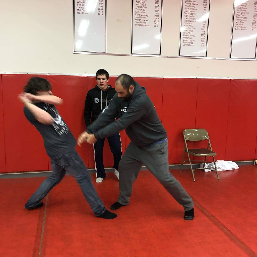 APS self defense instruction.