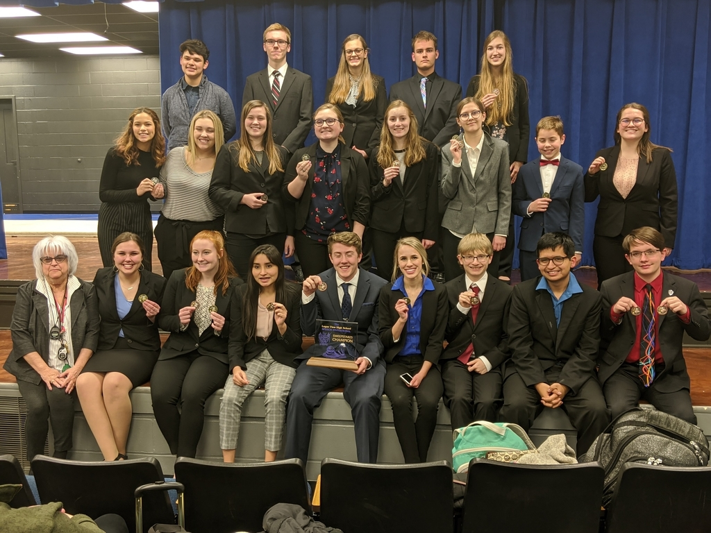 APS Speech Team wins Logan View meet.