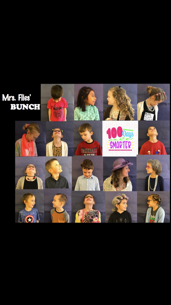 Mrs. Flies' 100 Day Bunch!