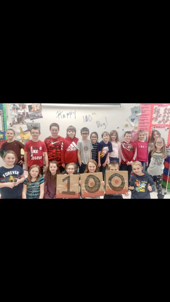 100 Days and a Pizza Party!!!