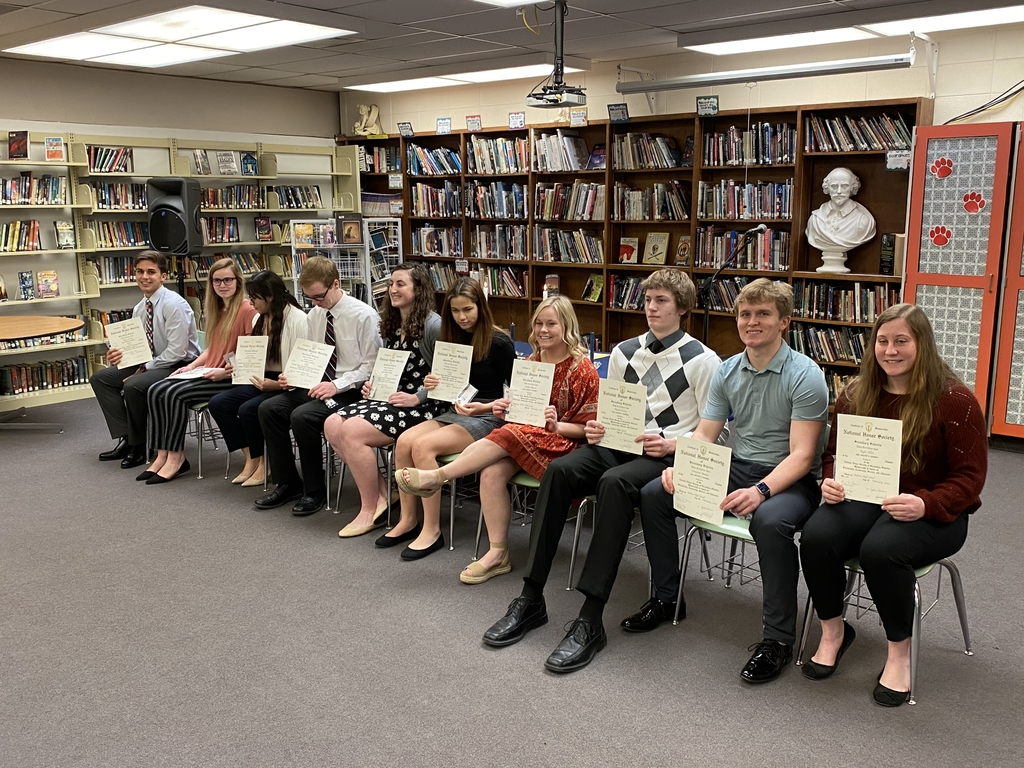 2020 National Honor Society inductees.
