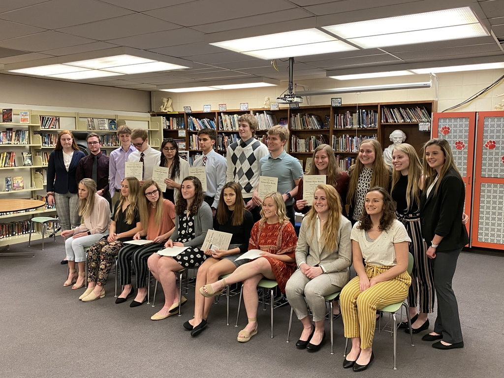 2020 National Honor Society Members