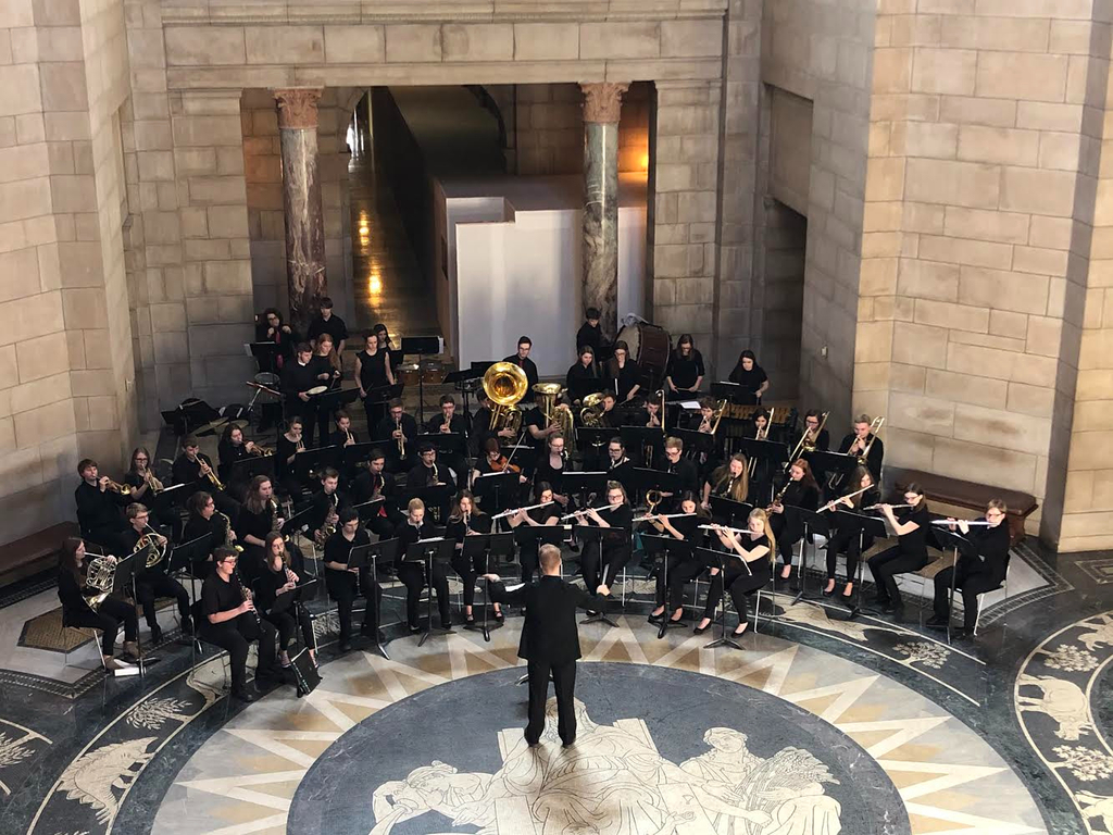 APS Band plays at State Capital