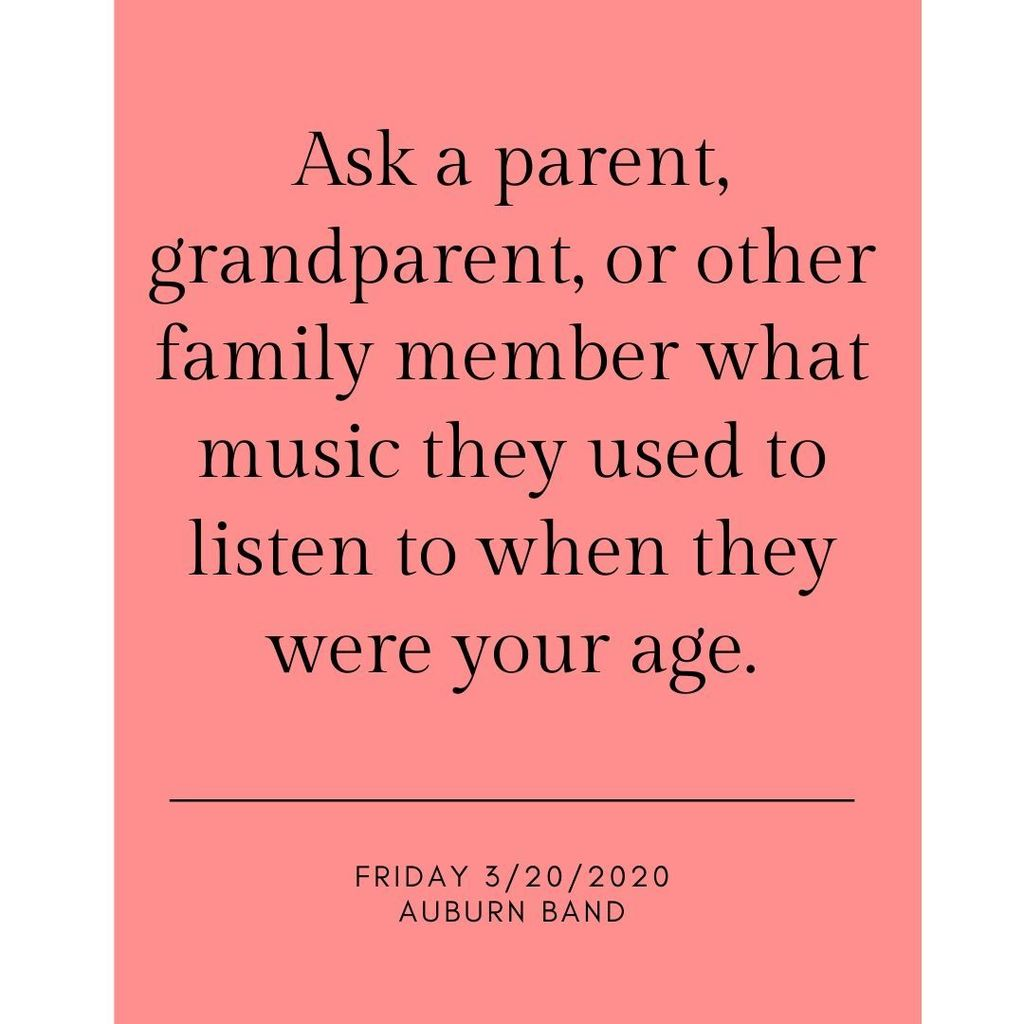 Ask a parent