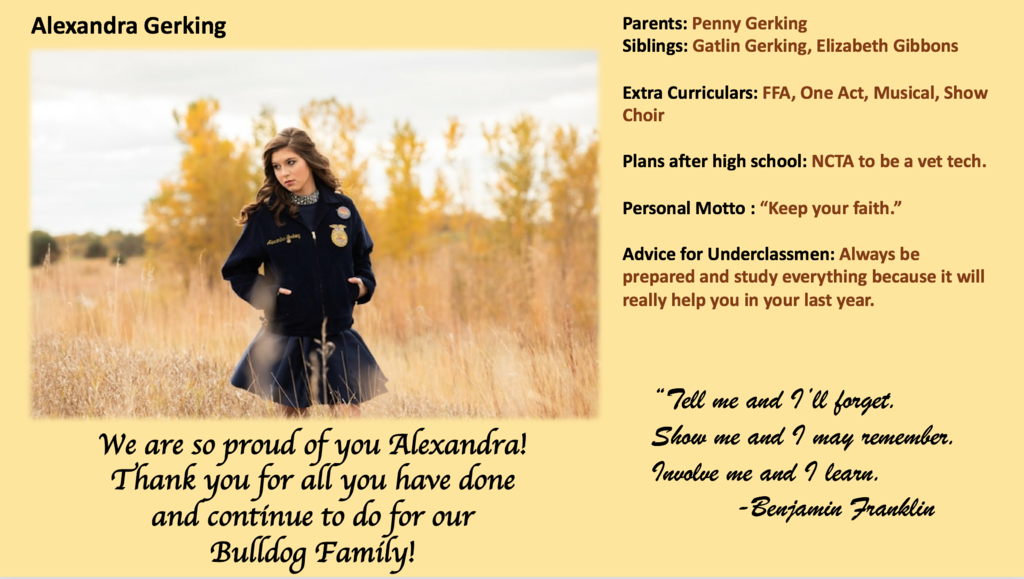 Alexandra Gerking-APS Senior
