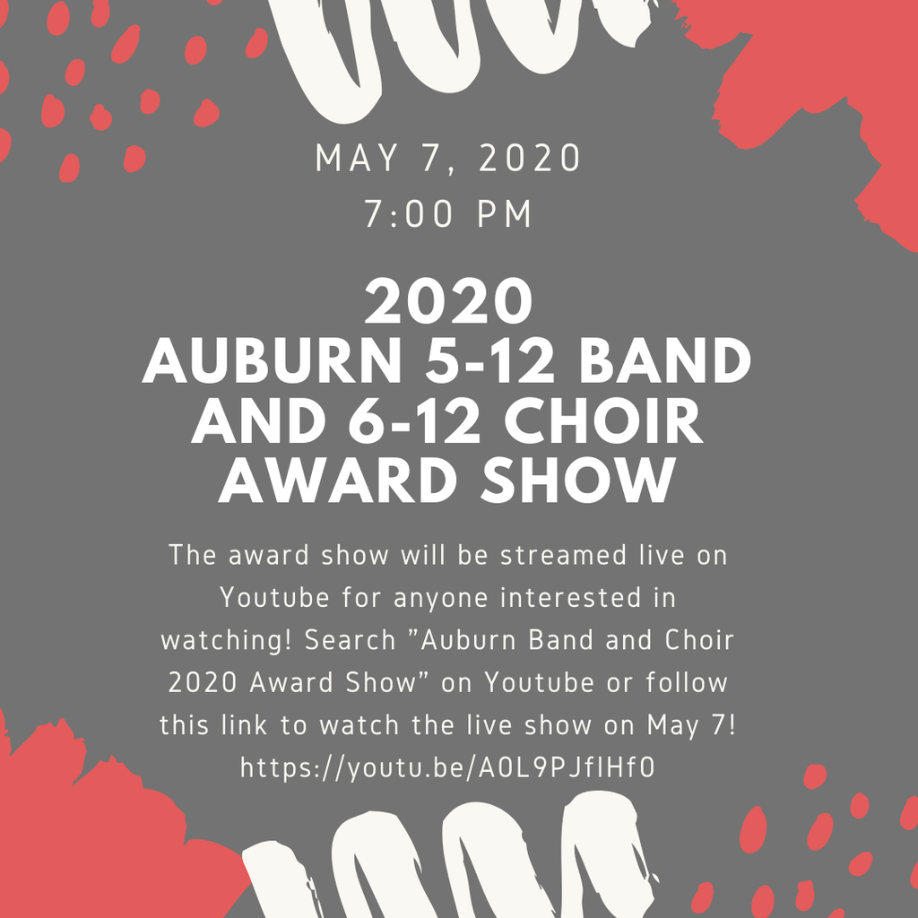2020 Band and Choir award show