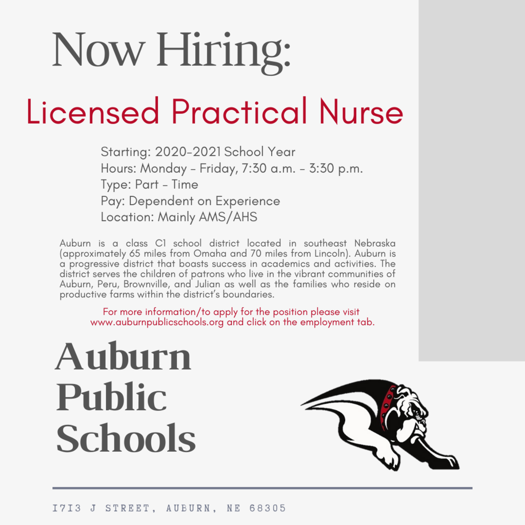 Now Hiring - Licensed Practical Nurse