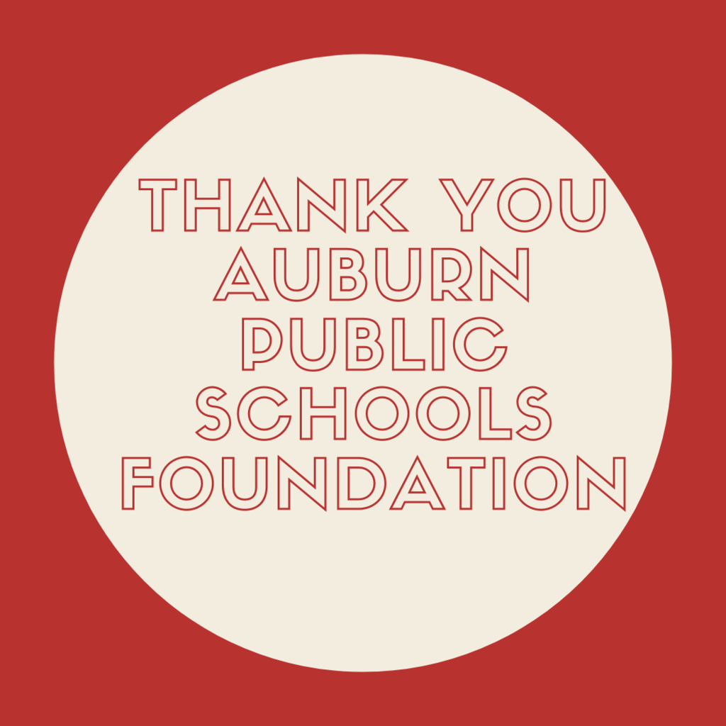 Thank you Auburn Public School Foundation